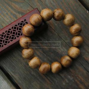 Vòng gỗ Trầm Tốc Malaysia Hạt Tròn
