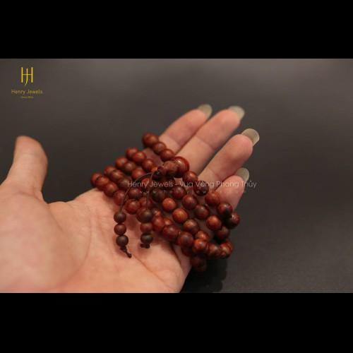 Vòng Tử Đàn Tiểu Điệp 108 hạt