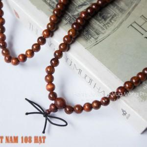 Chuỗi Tràng Hạt 108 hạt Sưa Đỏ Việt Nam