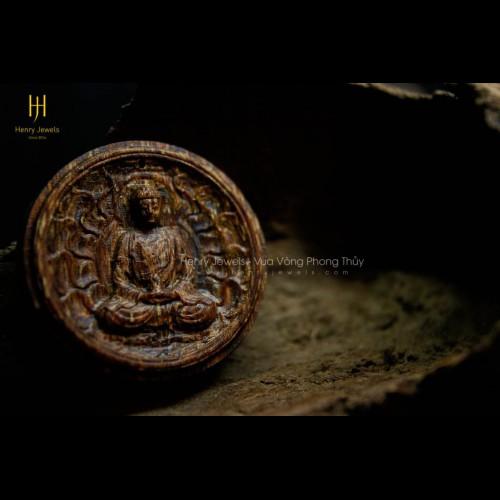 Mặt Phật Như Lai Đại Nhật sánh chìm dầu vàng cao cấp
