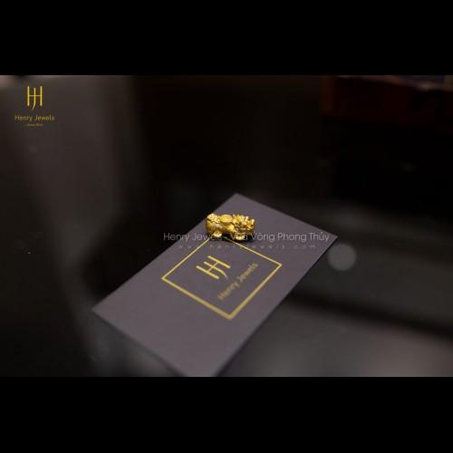 Tỳ Hưu Vàng 24k Nguyên Chất 9999