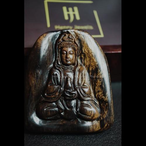 Mặt Phật Quan Âm Trầm Hương Indonesia (MS 01)