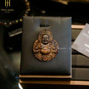 Mặt Phật Di Lặc Trầm Indonesia cao cấp