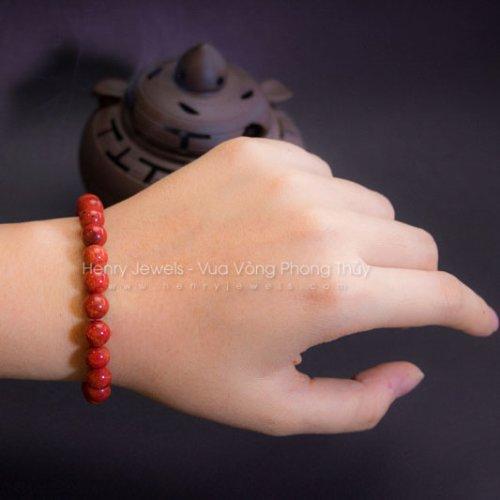 Vòng tay san hô đỏ cho nữ