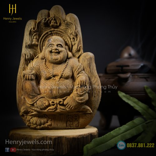 Tượng Phật Di Lặc Để Bàn