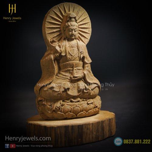 Tượng Phật Bà Quan Âm Để Bàn